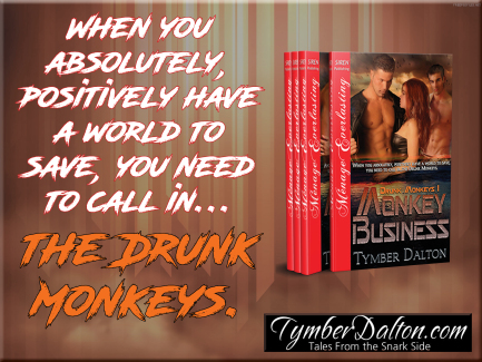 Drunk Monkeys series featured!