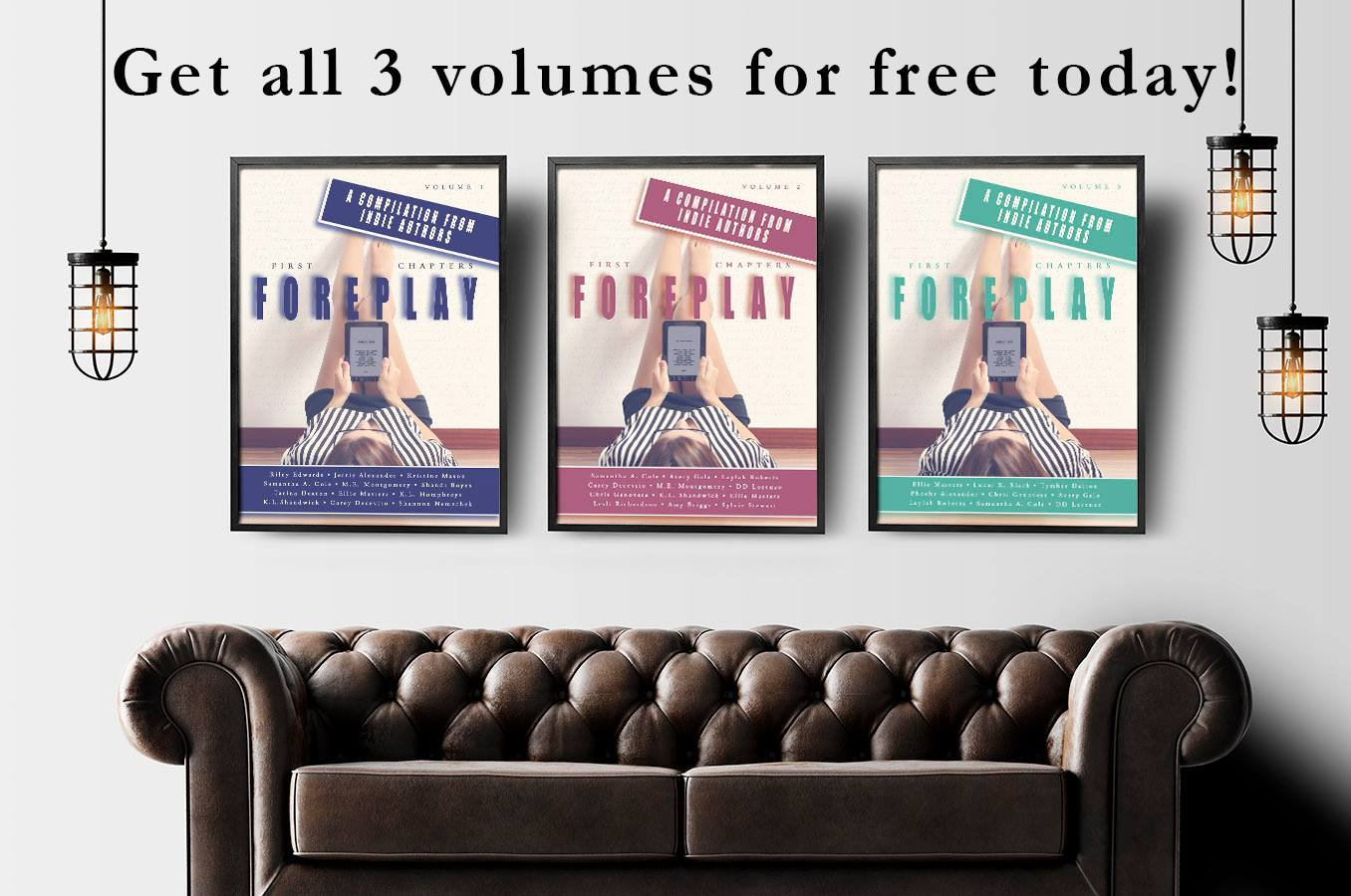 #FreebieAlert – First Chapters: Foreplay vols. 1-3