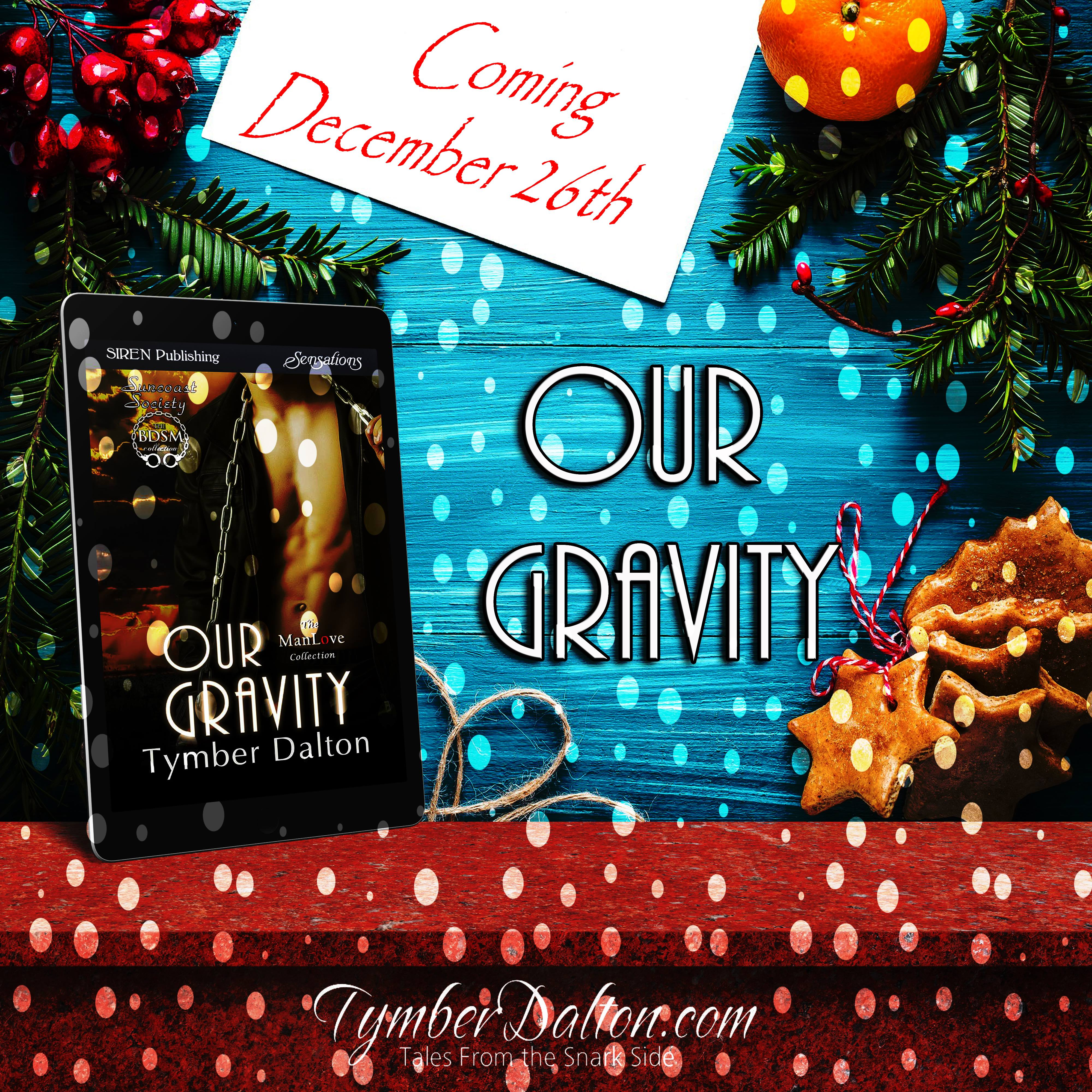 Available for pre-order: Our Gravity (Suncoast Society)