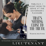 Now Available: Lieutenant (Governor Trilogy 2)