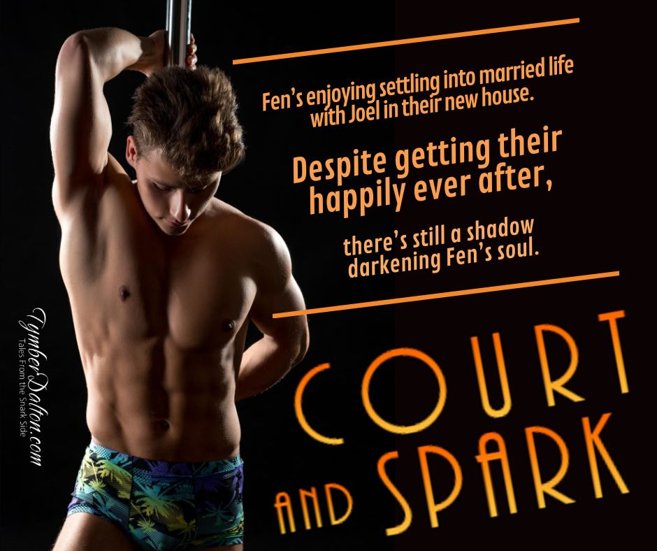 Now on Kindle and elsewhere: Court and Spark (Suncoast Society)