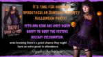 Now on Kindle and other third-party sites: Happy Spank-O-Ween (Suncoast Society)