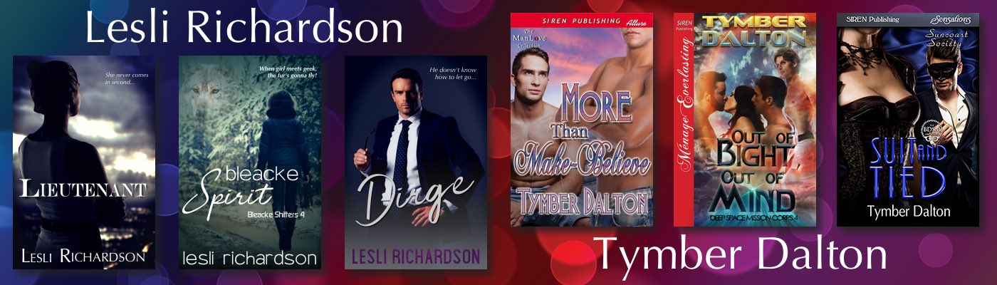 Author Lesli Richardson / Tymber Dalton