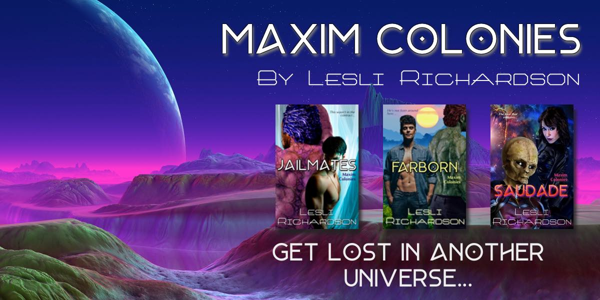 Maxim Colonies (Writing as Lesli Richardson)